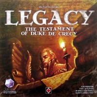 Legacy: The Testament of Duke de Crecy - Board Game Box Shot