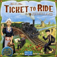 Ticket to Ride: Nederland - Board Game Box Shot
