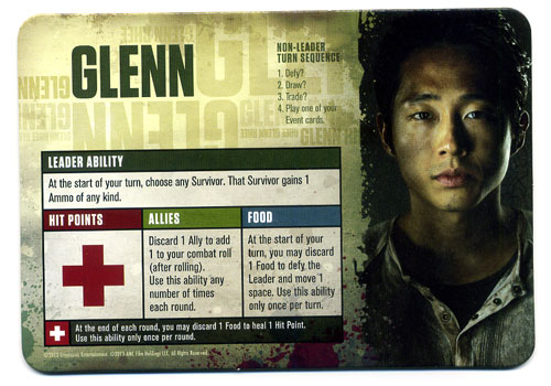 The Walking Dead: Best Defense player card