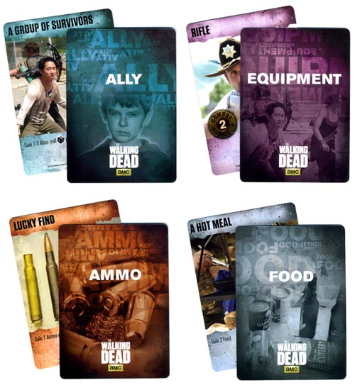The Walking Dead: Best Defense resource cards