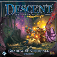 Descent: Journeys in the Dark (2ed) – Shadow of Nerekhall - Board Game Box Shot