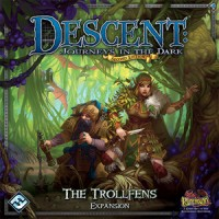 Descent: Journeys in the Dark (2ed) – The Trollfens - Board Game Box Shot