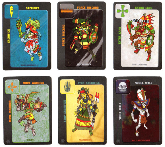 Serpent Stones god cards