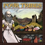 Four Tribes - Board Game Box Shot