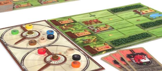 Glass Road player boards