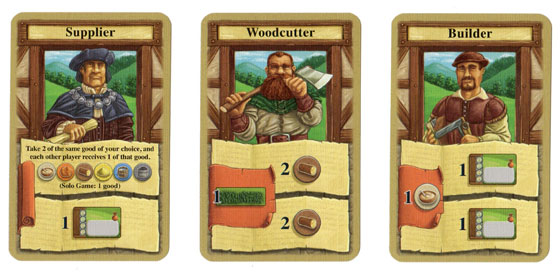Glass Road specialist cards