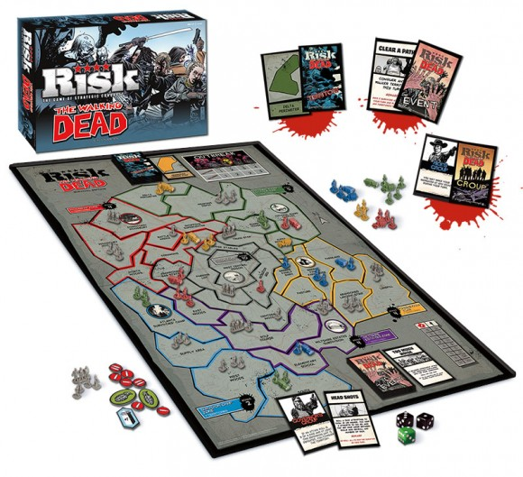 Risk The Walking Dead Publisher Image