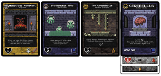 Boss Monster cards