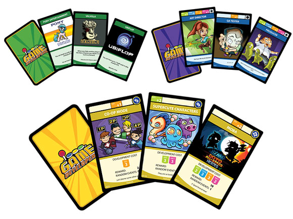 Game Developerz cards