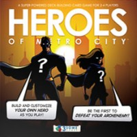 Heroes of Metro City - Board Game Box Shot