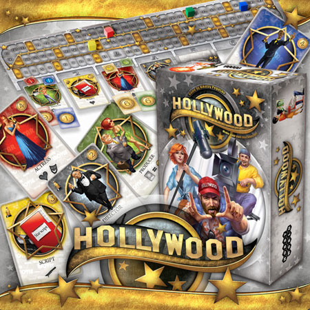 Hollywod game box and components