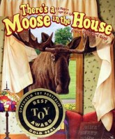 There's a Moose in the House - Board Game Box Shot