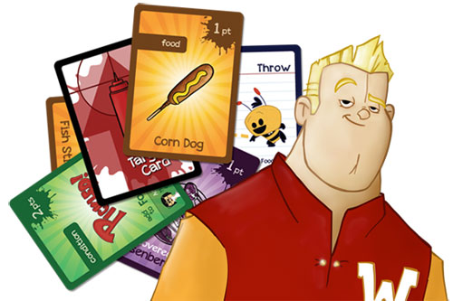 What the Food game cards