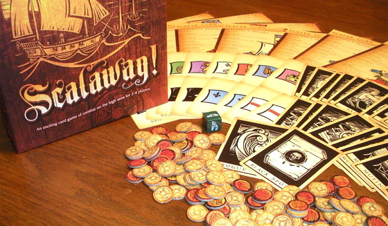 Scalawag! game components