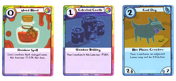 Adventure Time Card Wars Blueplains cards