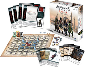 Assassin's Creed: Arena components