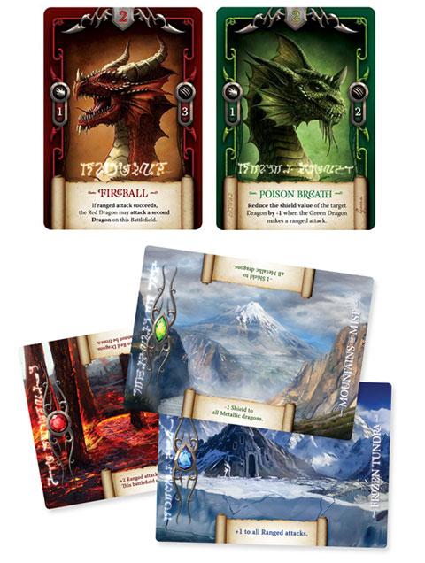 Draco Magi cards