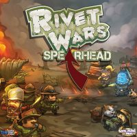 Rivet Wars: Spearhead - Board Game Box Shot