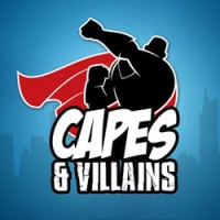 Capes and Villains - Board Game Box Shot