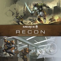 MERCS: Recon – Assassination Protocol - Board Game Box Shot