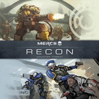 MERCS: Recon – Counter Threat - Board Game Box Shot