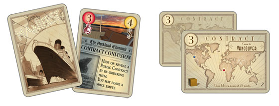 Manifest board game cards