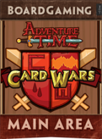 Adventure Time Card Wars - Board Game Box Shot