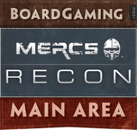 MERCS: Recon - Board Game Box Shot