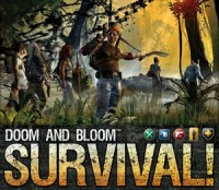 Doom and Bloom's SURVIVAL! - Board Game Box Shot