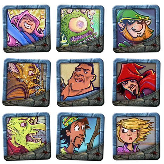 DungeonCraft avatars on BoardGaming.com
