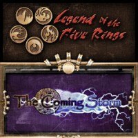 Legend of the Five Rings – The Coming Storm - Board Game Box Shot