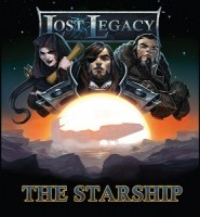 Lost Legacy: The Starship - Board Game Box Shot