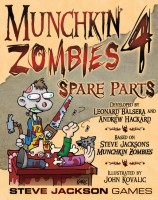 Munchkin Zombies 4: Spare Parts - Board Game Box Shot