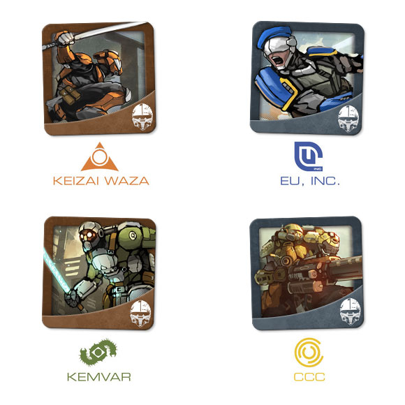 MERCS: Recon avatars on BoardGaming.com