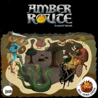 Amber Route - Board Game Box Shot