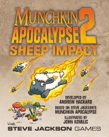 Munchkin Apocalypse 2: Sheep Impact - Board Game Box Shot