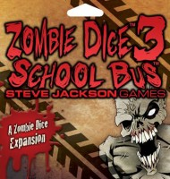 Zombie Dice 3: School Bus - Board Game Box Shot