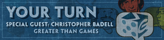 Your Turn Guest: Christopher Badell