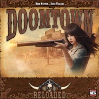Doomtown: Reloaded – Base Set - Board Game Box Shot