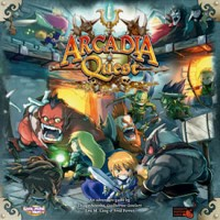 Arcadia Quest - Board Game Box Shot
