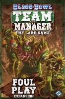Blood Bowl: Team Manager – Foul Play - Board Game Box Shot