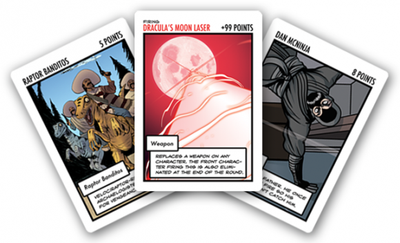 Dr. McNinja's Legendary Showdown Cards