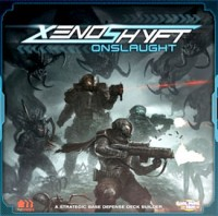 Xenoshyft Onslaught - Board Game Box Shot