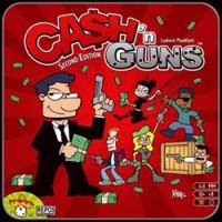 Ca$h 'n Guns (Second Edition) - Board Game Box Shot