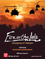 Fire in the Lake - Board Game Box Shot