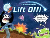 Lift Off! Get me off this Planet - Board Game Box Shot
