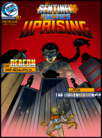 Sentinel Tactics: Uprising - Board Game Box Shot