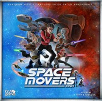 Space Movers - Board Game Box Shot