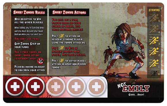 Student Bodies Character Card Back