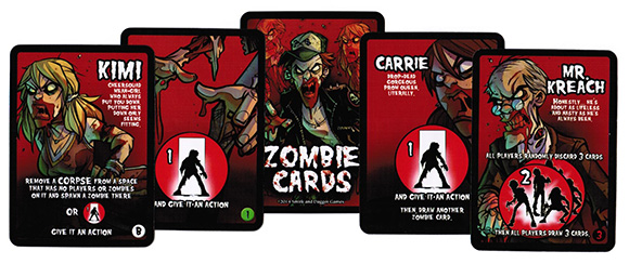 Student Bodies Zombie Cards